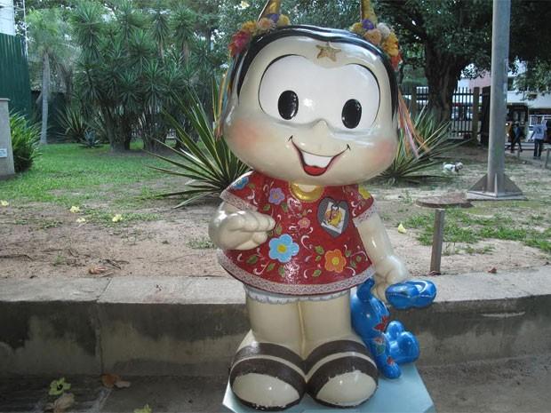 'Mônica Parade' chega ao Rio com estátuas estilizadas da personagem