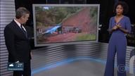 Chuva causa estragos em Ubatuba, no Litoral Norte de SP