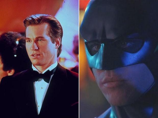 Val Kilmer interpretou Batman no longa 'Batman eternamente' (1995), dirigido por Joel Schumacher (Foto: Divulgação)