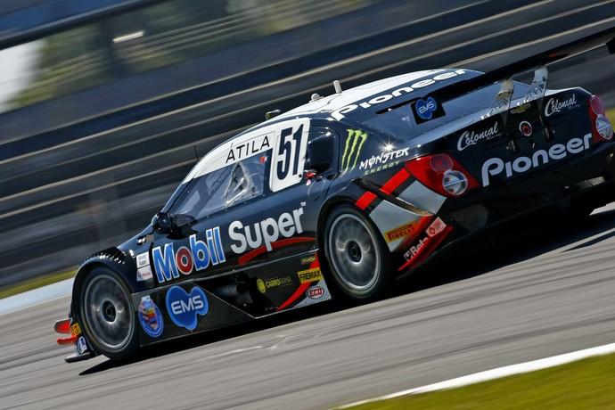 Átila Abreu largará em quarto na etapa de Curitiba da Stock Car (Foto: Marcus Cicarello/Hyset)