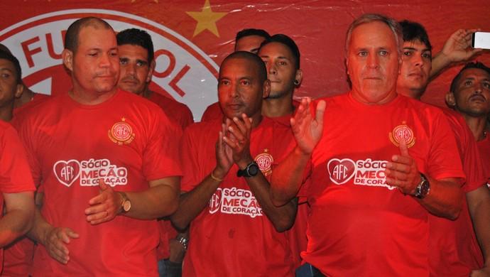 Lançamento programa de sócio América-RN  (Foto: Jailson Santos/Divulgação)