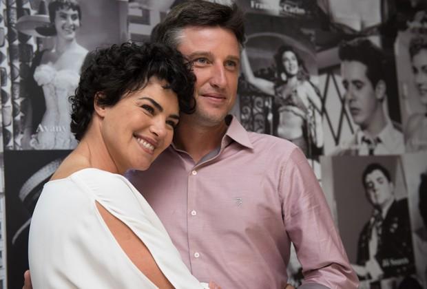 Ana Paula Arósio e o marido, Henrique Pinheiro Plombon (Foto: Selmy Yassuda/QUEM)