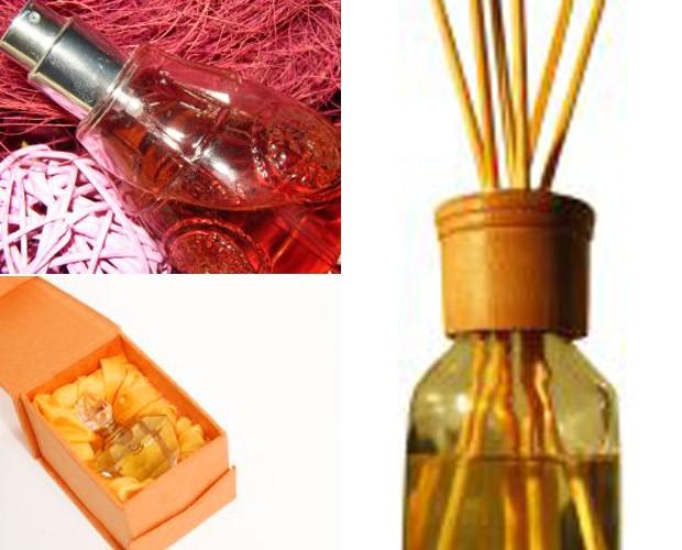 Perfumes e aromatizantes dão uma sensação gostosa para o ambiente (Foto: Mais Você / TV Globo)