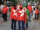 Vitória tem ato a favor do governo da presidente Dilma