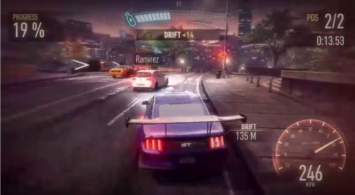 Need for Speed: No Limits ganhou primeiro trailer com cenas de gameplay (Foto: Reprodução/YouTube)