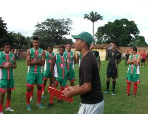 Apresentação do Expressinho e conversa com treinador Marquinhos Fumê (Foto: Expressinho / Divulgação)