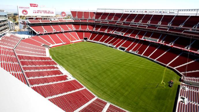 inauguração do estádio do San Francisco 49ers (Foto: AP)