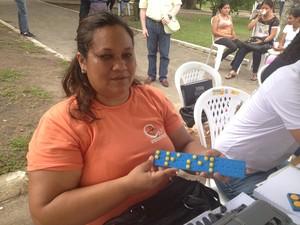 Rosenilda Farias, de 41 anos (Foto: Dyepeson Martis/G1)