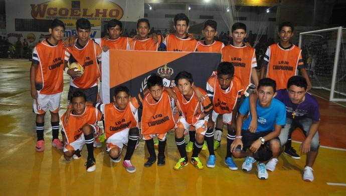 Meninos da Vila - campeonato de futsal em Óbidos (Foto: Divulgação/ Vander Andrade)