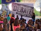 Estudantes participam de projeto que simula eleições em escola do RN