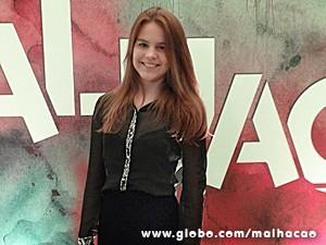 Bianca começou a atuar bem cedo (Foto: Malhação / TV Globo)