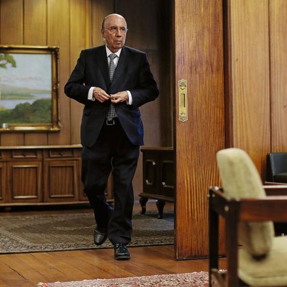 Henrique Meirelles.ministro da Fazenda (Foto: Adriano Machado / Reuters)