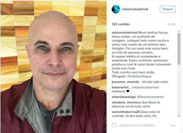 Edson Celulari (Foto: Reprodução/Instagram)