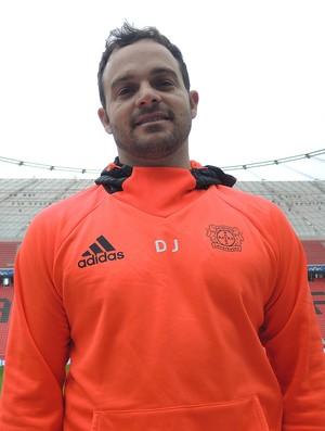 Daniel Jouvin, preparador físico do Bayern Leverkusen (Foto: Cassio Barco)