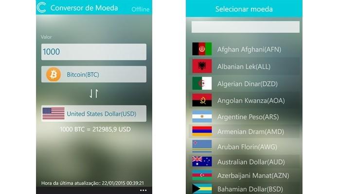 melhores apps para câmbio de euro dólar e outras moedas listas
