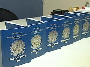 Posto da PF em Uberaba emitiu mais de 9.600 passaportes (Foto: Reprodução/TV Integração)