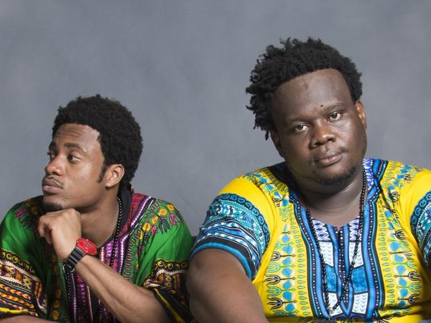 Dois Africanos (Foto: Leonardo Accioly/Divulgação)