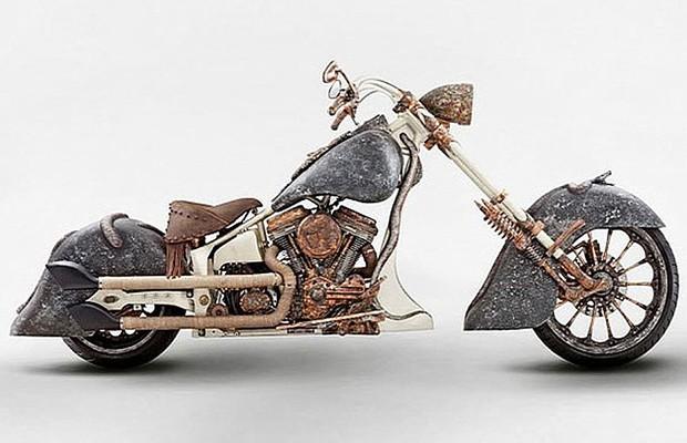 Moto TT Custom Choppers (Foto: Reprodução)