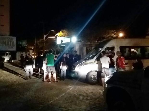 Operação Lei Seca realizada na Av. Hermes da Fonseca, na Zona Leste de Natal' (Foto: PM/Divulgação)