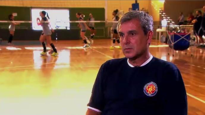 Zé Roberto Barueri Vôlei (Foto: Reprodução / SporTV)