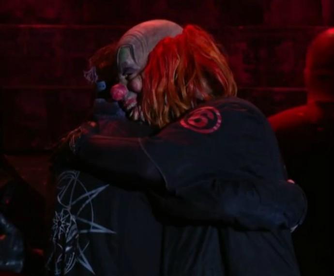 Em clima de despedida, Slipknot vai encerrando show no Palco Mundo (Foto: Gshow)