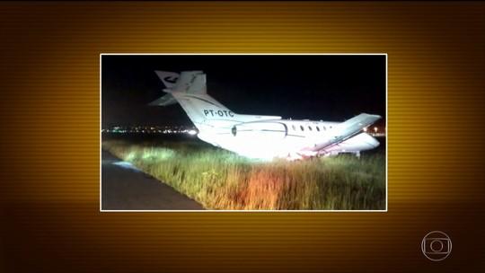 Avião que levava Aécio Neves faz pouso de emergência em São Paulo