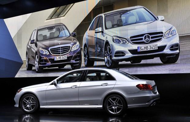 Mercedes lança novo Classe E no Salão de Detroit (Foto: REUTERS/James Fassinger)