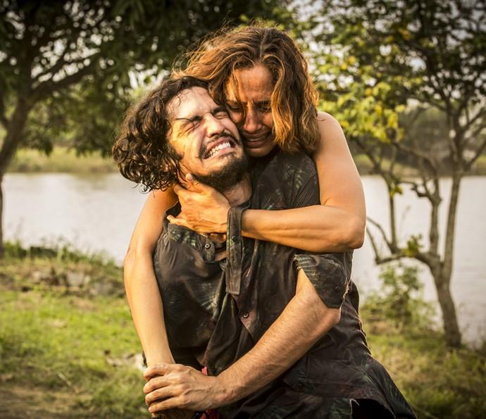 Miguel briga com a mãe  (Foto: Inácio Moraes/Gshow)