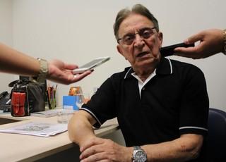 Fábio Koff concede entrevista no lançamento da nova cede do IGT (Foto: Diego Guichard/GloboEsporte.com)