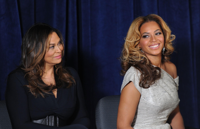 Beyoncé e Tina Knowles (Foto: Jason Kempin/Getty Images)