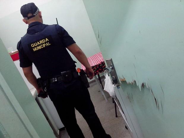 Crime foi descoberto pela Guarda Municipal (Foto: Divulgação/Guarda Municipal)