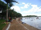 Praias artificiais do Lago de Itaipu estão próprias para banho, diz IAP