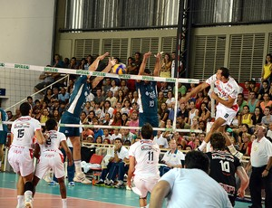 Pindamonhangaba x Rio de Janeiro Superliga Masculina (Foto: Luis Claudio Antunes/PortalR3)