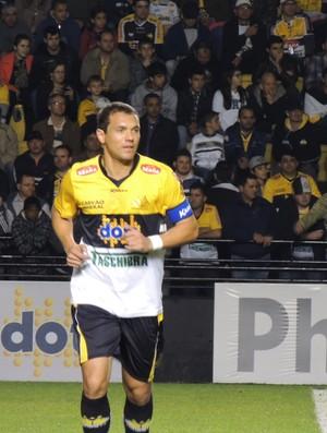 Marcel atacante Criciúma (Foto: João Lucas Cardoso)