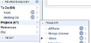 ActiveInbox usa métodos de GTD no seu Gmail