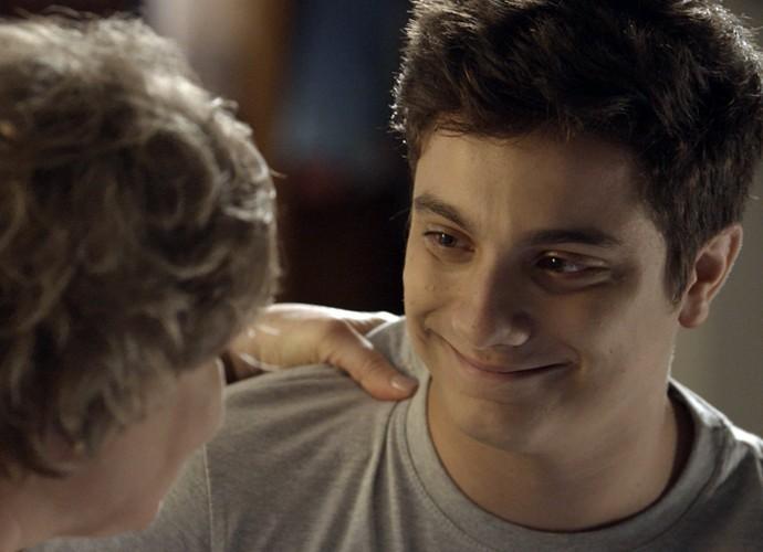Mateus diz que quer usar o seu dom para ajudar as pessoas  (Foto: TV Globo)