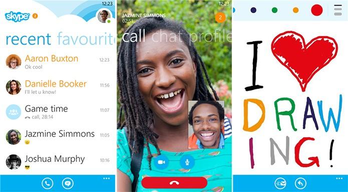 Skype adicionou funções exclusivas ao Windows Phone na sua última atualização (Foto: Divulgação/Windows Phone Store)