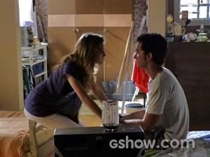 Sofia convence Ben (Foto: Malhação / TV Globo)