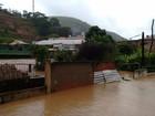 Chuva deixa 78 famílias desalojadas em cinco cidades na Serra do Rio