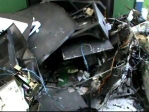 Ladrões estão usando mais explosivos em ataques (Foto: João Paulo Rezende/ Clique F5)