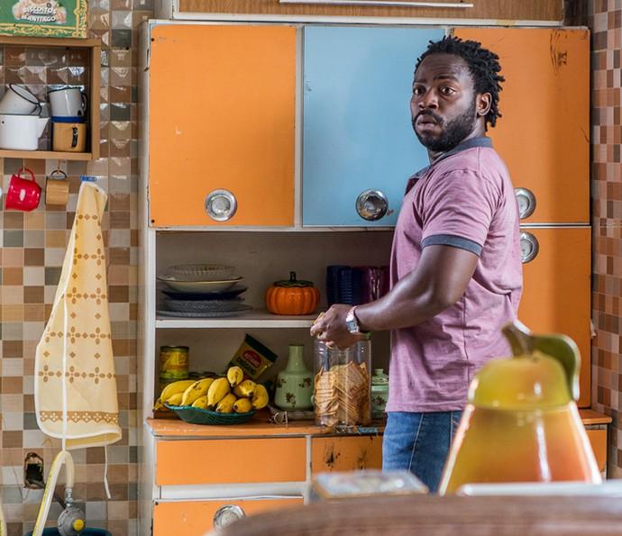 Acerola se verá em situações complicadas na quinta temporada de 'Cidade dos Homens' (Foto: Artur Meninea/Gshow)