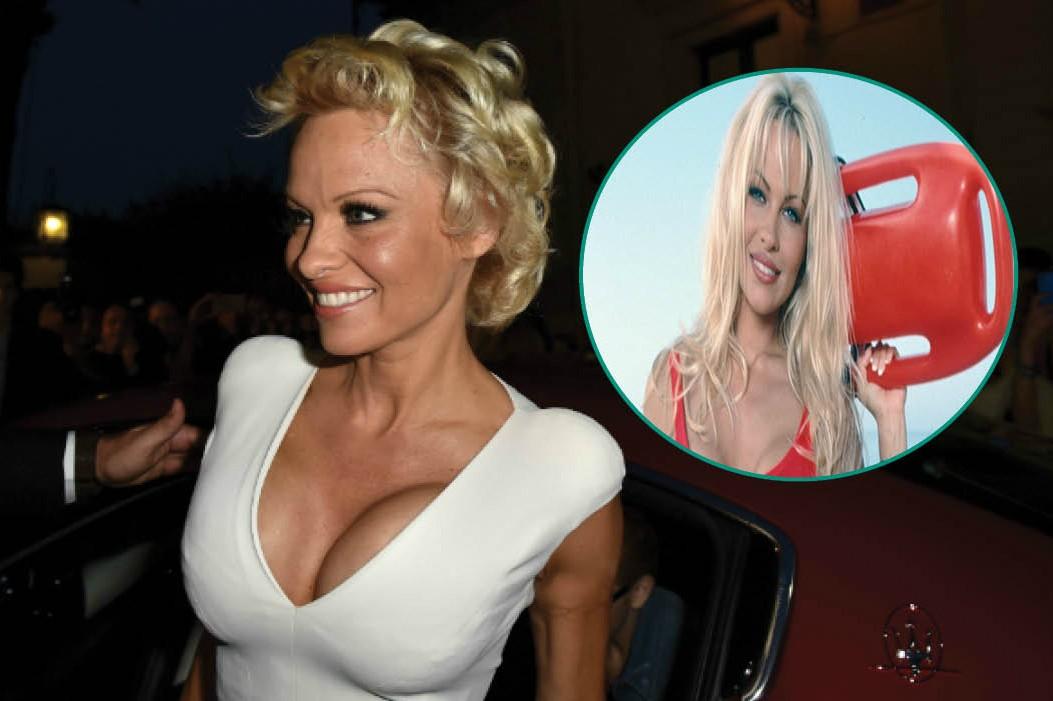 Uma das protagonistas de 'SOS Malibu' entre 1992 e 1997, Pamela Anderson foi uma das grandes celebridades dos anos 90. Em seguida ao término da série, ela esteve presente em produções como 'Stacked', 'V.I.P.' e na animação Stripella, na qual dublava uma heroína criada pelo quadrinista Stan Lee. (Foto: Divulgação/Getty Images)