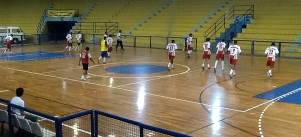Volta Redonda se prepara para a final da Copa Rio Sul de Futsal (Foto: Ana Cláudia Gonçalves/GLOBOESPORTE.COM)