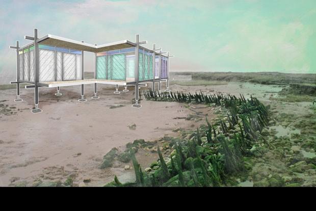Pavilhões pré-fabricados (Foto: Revolution PreCraft / divulgaç)