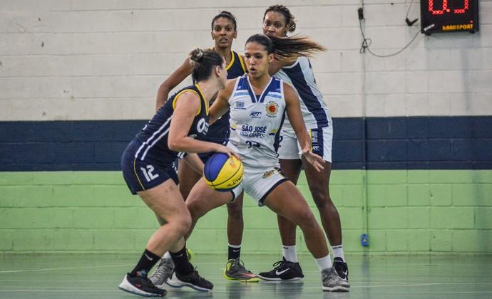 Estela São José Basquete Feminino x Franca Basquete Feminino (Foto: Arthur Marega Filho/São José Desportivo)