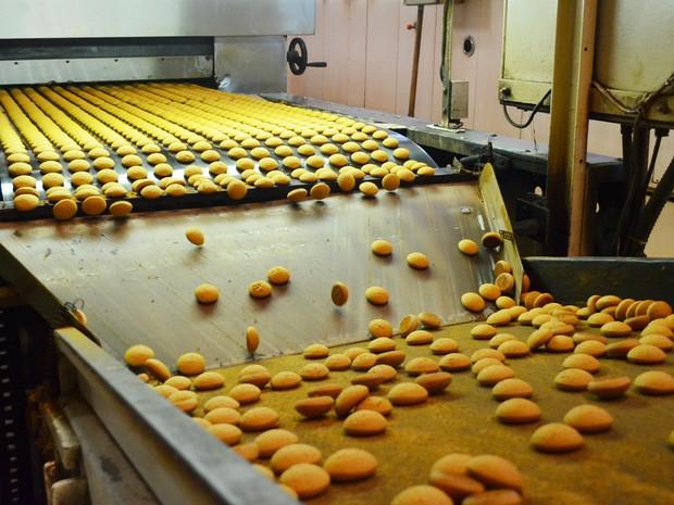 Padaria em Lins se transformou em fábrica de biscoitos na década de 1970 (Foto: Adriano Oliveira/G1)