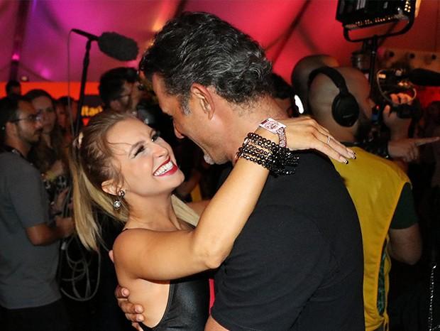 Carla Diaz e Marcos Pasquim (Foto: Rogerio Fidalgo/ AgNews)