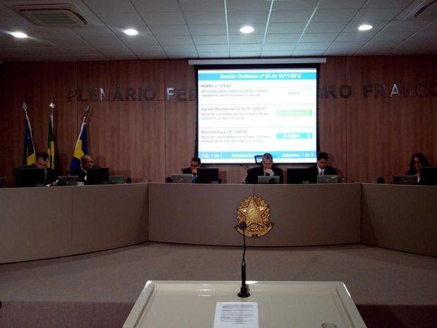 Primeiro julgamento do caso subvenções foi iniciado (Foto: Flávio Antunes/G1)