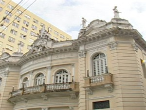 Theatro Carlos Gomes, em Vitória (Foto: Reprodução/ Arquivo TV Gazeta)