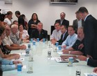 Prefeitura de Santos vai para a Vila Belmiro (Gustavo Serbonchini / globoesporte.com)